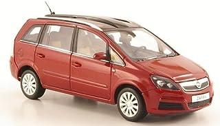 Opel Zafira B, metallic dunkelrot, 2005, Modellauto, Fertigmodell, I Minichamps 1:43