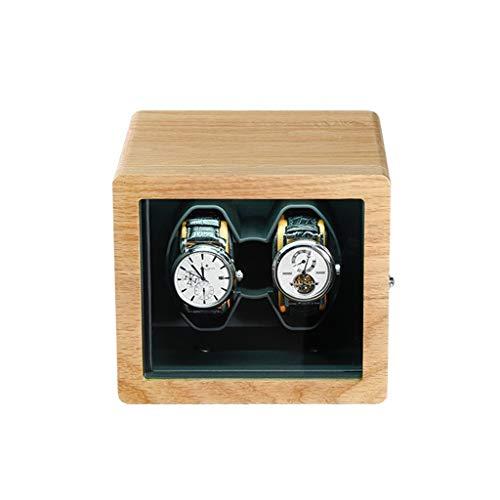 KHUY Caja de regalo para relojes automáticos, caja de regalo de lujo, motor extremadamente silencioso (color: A)