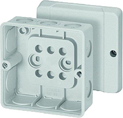 Hensel de 9340 Polystyren Electrical Junction Boxes (Grey, 52 mm, 98 mm, 117 g), grau