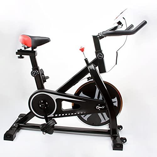 CJDM Bicicleta estática de Interior para el hogar, Bicicleta de Spinning silenciosa, Equipo de Fitness de Bicicleta de Pedal, Empresa, Equipo de Entrenamiento de Gimnasio
