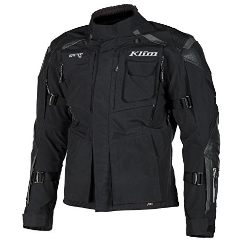KLIM Motorradjacke Kodiak Jacket Gore Tex Jacke 3721-001, black, 29/58 Kurz