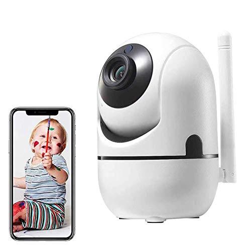 Baby Monitor Telecamera Wifi Per Animali Domestici Telecamera Per Interni 2.4G Con Rilevamento Del Movimento Per Visione Notturna Audio Bidirezionale Visualizzazione Remota Sistema Di Telecamere Ip D