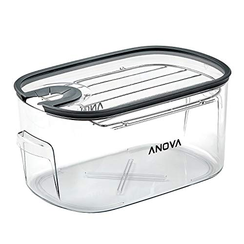 16L Sous Vide Cooker Cooking container, With Removable Lid and Rack