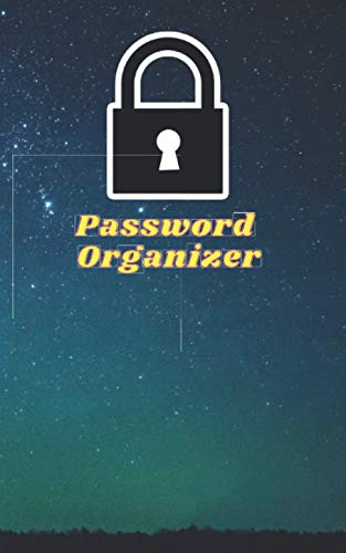 Password Organizer: Password Organizer with Alphabetical Tabs for Internet Login, Website, Username, Password. box of Password for Home or Office. 5x8 60 PAGES
