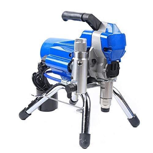 Pulverizador de pintura de alta presión, 2200 W, 2,5 l/min, azul, pistola de pulverización, 3000 psi, alta presión, sin aire, para paredes