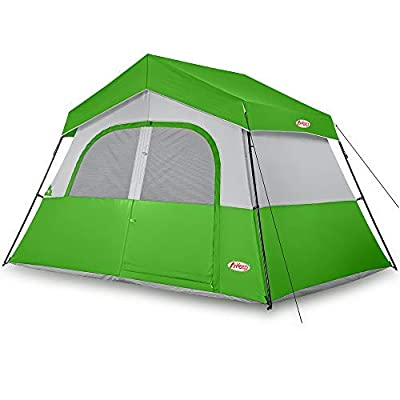 MKeep Camping Tent - 6 Person Camping Tent, Professional Waterproof & Windproof with Rainfly, Double Layer, Advanced Venting Design, Easy Setup & Portable with Carry Bag for Hiking