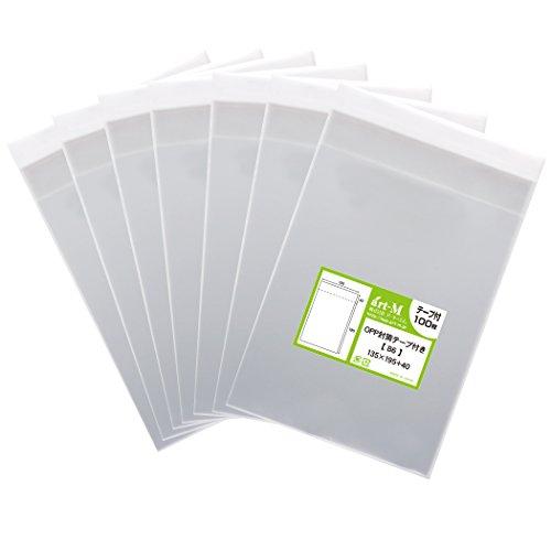 【国産】テープ付 B6【 B6用紙 / B5用紙2ッ折り用 】透明OPP袋(透明封筒)【700枚】30ミクロン厚(標準)135x195+40mm