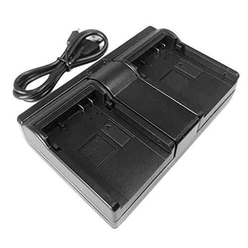 MERIGLARE Cargador USB Dual para LP-E8 Y EOS 550D / 600D, EOS Rebel T2i, T3i, T4i