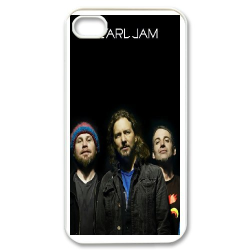 Custom Case Pearl Jam Band For iPhone 4,4S Q2Y5543374