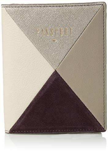 Fossil womens Rfid Case Purple Multi passport covers, Purple/Multi, One Size US