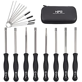 Hipa  Pack of 8 Carburetor Adjustment Tool Screwdriver + Carburetor Cleaning Kit + Carrying Case for Common 2 Cycle Small Engine STHIL Poulan Husqvarna MTD Troy-Bilt Trimmer Weed Eater Chainsaw