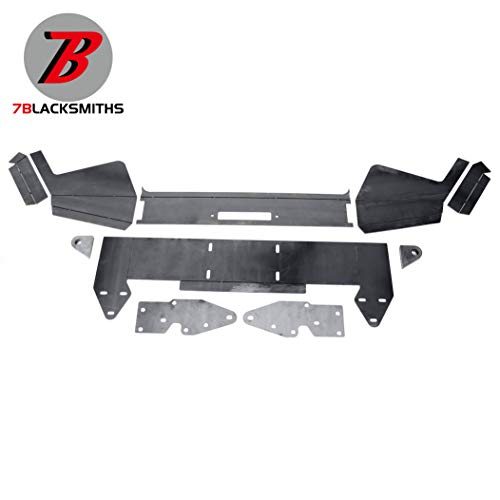 DIY Front Bumper Bare Metal Kit For 1984-2001 Jeep Cherokee XJ Winch Mount Plate