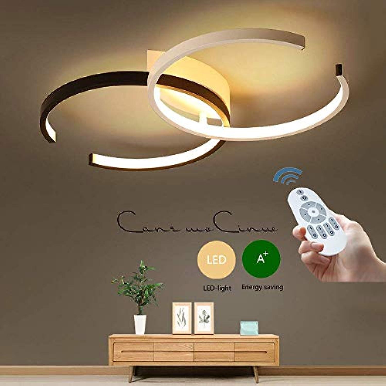 Wandun LED Deckenleuchte, Modern Design Deckenlampen Creative Decke Licht Innenbeleuchtung Büro Wohnzimmer Schlafzimmerküche Deckenbeleuchtung Φ55cm 40W [Energieklasse A++]