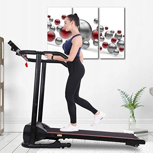 1100W Folding Treadmill with Device Holder, Shock Absorption and Incline Treadmill,Treadmills for Home,Folding Treadmill,Treadmills,Foldable Treadmill