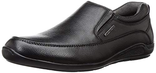 Hush Puppies Men Adrian Slip On Brown Leather Loafers-7...
