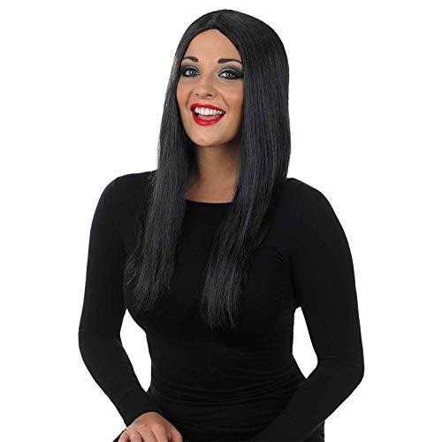 Fun Shack Womens Long Black Wig Adults Gothic Film...