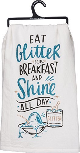 L.O.L. Surprise! Eat Glitter for Breakfast Kitchen Towel