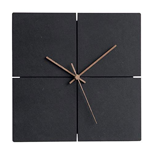 HEKRW Reloj de Pared de Madera silencioso, Reloj de Pared Colgante Simple, Ligero Home Office Decor Sala Cocina Dormitorio
