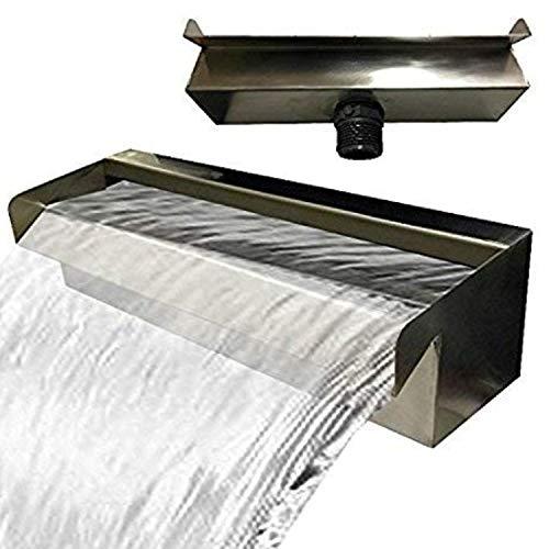 Kaskade V2A Fontaine cascade en acier inoxydable 30,60,90 cm (30 cm)