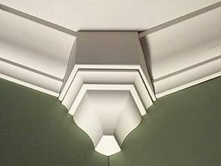 Crown Molding Corner 135 Degree Inside Block Fits 3 - 3 5/8 Inch Crown Molding