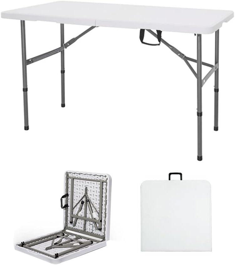 4ft Folding Table Outdoor Plastic Foldi 限定モデル Lifetime 与え