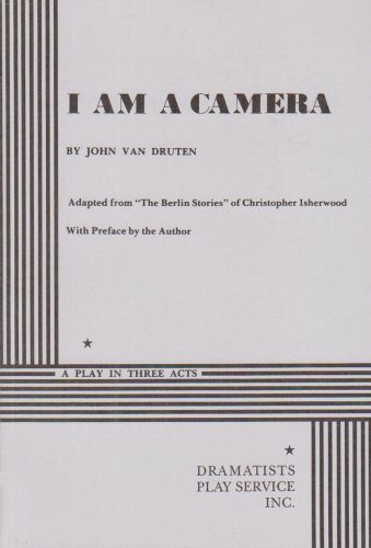 I Am a Camera (Acting Edition for Theater Productions)