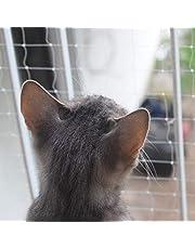 Pet Prime Red de seguridad para gatos para balcón, escaleras, puerta de ventana, aviso de seguridad para mascotas, tamaño invisible (L-6 x 3 m)