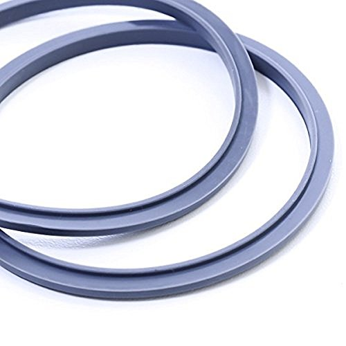 2 Gaskets, Top Quality Rubber Seal & Perfect fit - Nutribullet Replacement Parts by NUTRiBULLET