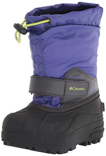 Western Chief Kid's Cold Rated Neoprene Memory Foam Snow Boot, Purple, 5 M US Big Kid