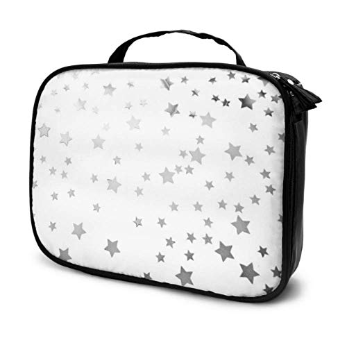 Toile de Fond Bright Creative Glitter Travel Women Makeup Case Cosmetic Travel Bags Petit Makeup Bag Multifunction Printed Pouch for Women