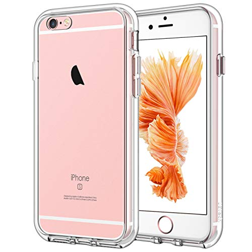 JETech Funda Compatible iPhone 6s y iPhone 6, Carcasa Anti-Choques y Anti-Arañazos, Transparente