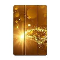 Sepikey iPad Pro 11 2018/iPad Pro 保護ケース, 耐摩耗性 キズ防止 PU&PC 三つ折 耐衝撃 三つ折りブラケット 専用カバー iPad Pro 11 2018/iPad Pro Case-輝く 11