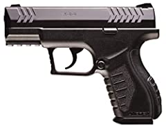 19-shot, .177 caliber BB air pistol Powered by a 12-gram CO2 cartridge (CO2 NOT included) Shoots .177 caliber steel BBs at up to 410 fps Integrated Picatinny accessory mounts make it easy to add optics, lasers, or lights Lightweight and durable polym...