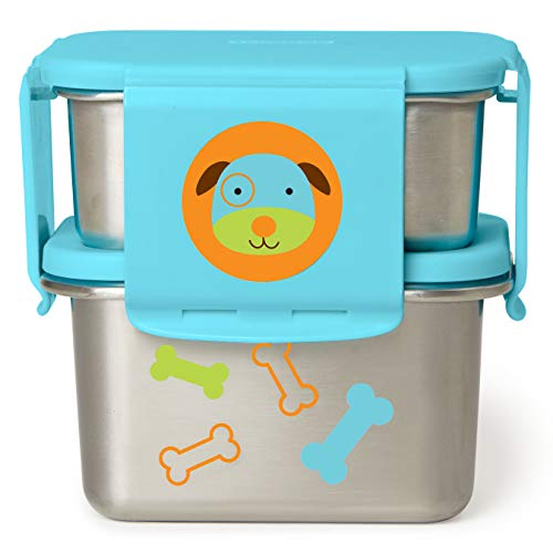 Skip Hop Zoo - Kit de almuerzo (acero inoxidable)