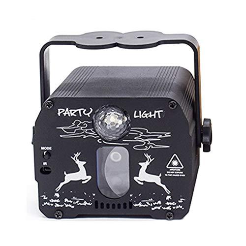 LOULE Mini Luz Láser de Proyección de Cielo Estrellado Dos Modos Interruptor de Una Tecla Tamaño Pequeño Fácil de Transportar Crea Un Ambiente Dinámico Adecuado para Todo Tipo de