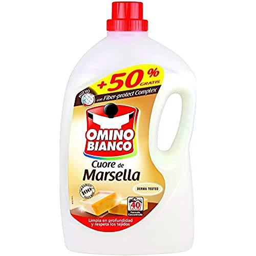 Omino Bianco Detergente Liquido Cuero de Marsella