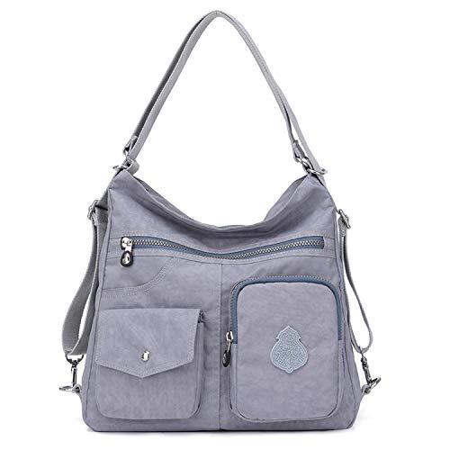 Outreo Umhängetasche für Mädchen und Damen, Schultertasche, lässiger Rucksack, Sport, für Reisen, Umhängetasche, Nylon