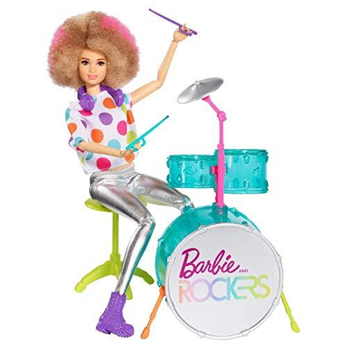 Mattel Barbie y los Rockers muñeca y tambor