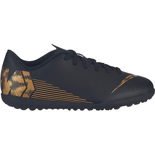 Nike Grade-School Kids' Nike Jr. Vapor 1 - black/mtlc vivid gold, Größe:4.5Y