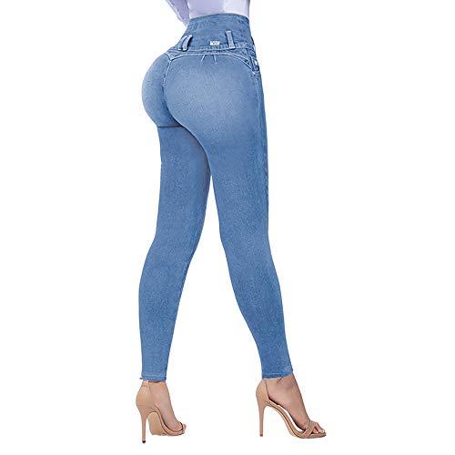 COMFY JEANS ORIGINAL (1 pieza) son unos jeans de tiro alto, completamente estilizados que LEVANTAN LAS…