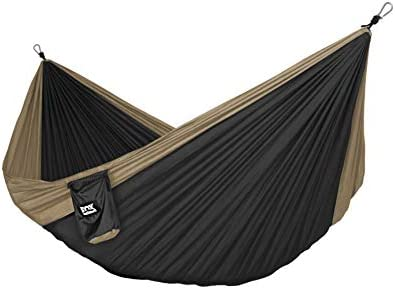 Fox Outfitters Neolite Double Camping Hammock Lightweight Portable Nylon Parachute Hammock for product image