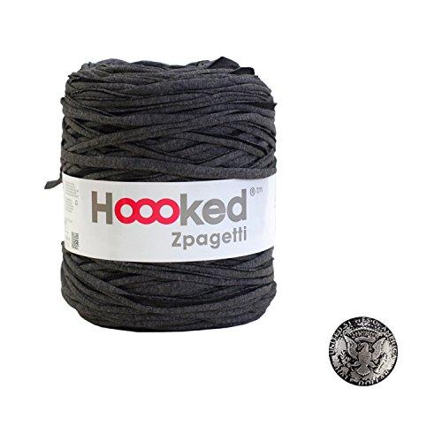 KIYOHARA Hooked Zpagetti (フックドゥズパゲッティ) コンチョボタン 鳥 30mm セット DarkGrey