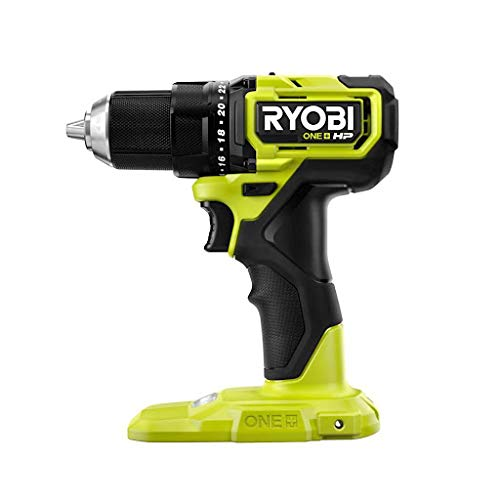Ryobi ONE+ HP 18V Cordless Compact Brushless 1/2' Drill/Driver PSBDD01 (TOOL ONLY- Battery and Charger NOT included)