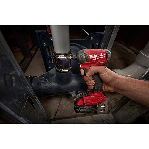 Milwaukee 2999-22CX M18 FUEL 18-Volt Lithium-Ion Brushless Cordless Surge Impact Driver/Hammer Drill Combo Kit (2-Tool)
