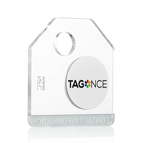 Tagonce Luggage Tag For Your Travel Bags, Clear