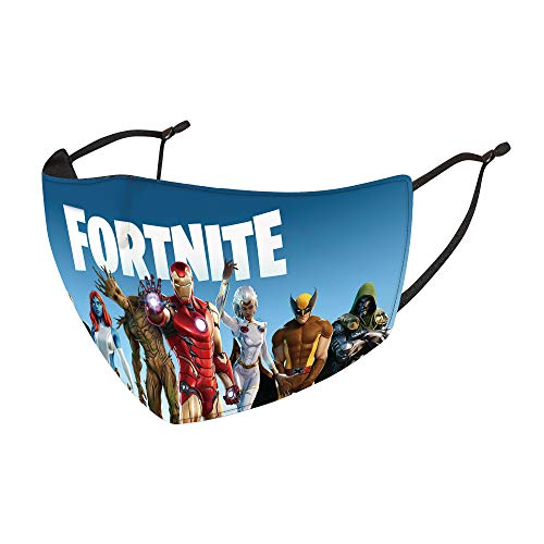 Fortnite Mask Kids/Youth Face Cover Breathable Anit-Dust Windproof Ear Loops Scarf
