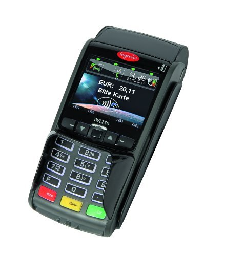 EC Karten Gerät IWL 250 GPRS inklusive SIM Karte, inklusive Gutschein-Funktion, inklusive 25 eigene Gutscheinkarten (wieder aufladbar)