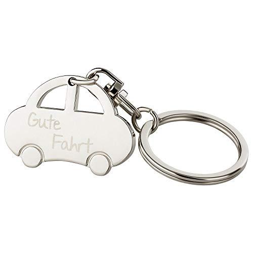 MaMeMi Schlüsselanhänger: Auto 'Gute Fahrt'