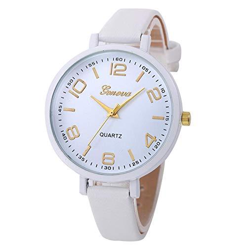 jiushixw Kreative Geschenke Damen Freizeituhr Kunstleder Analog Quarz Armbanduhren Damen Hochwertige Montre Femme HK & 40