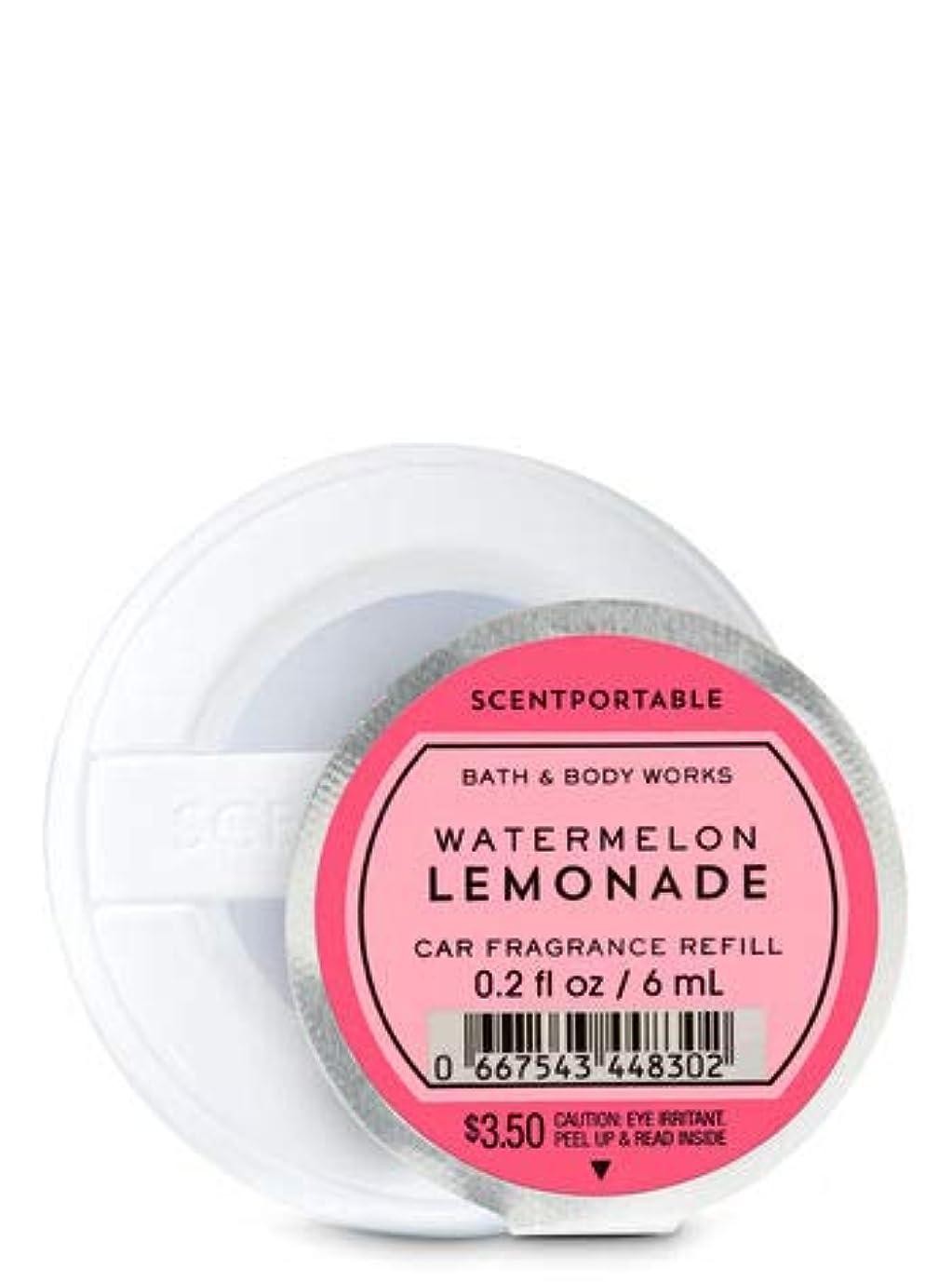 監査黒人気がついて【Bath&Body Works/バス&ボディワークス】 クリップ式芳香剤 セントポータブル詰替えリフィル ウォーターメロンレモネード Scentportable Fragrance Refill Watermelon Lemonade [並行輸入品]